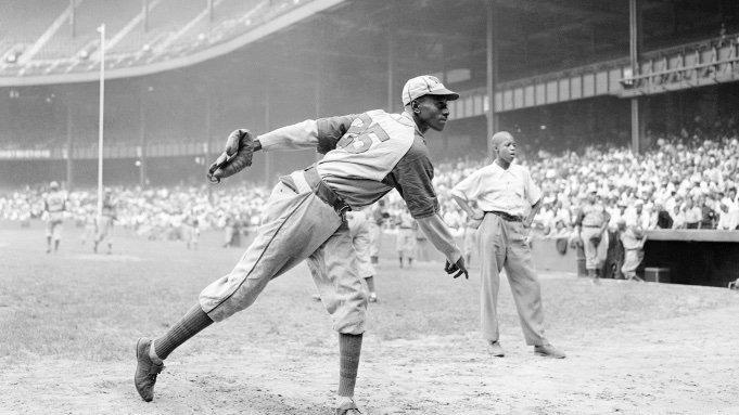 Legendary pitcher Leroy