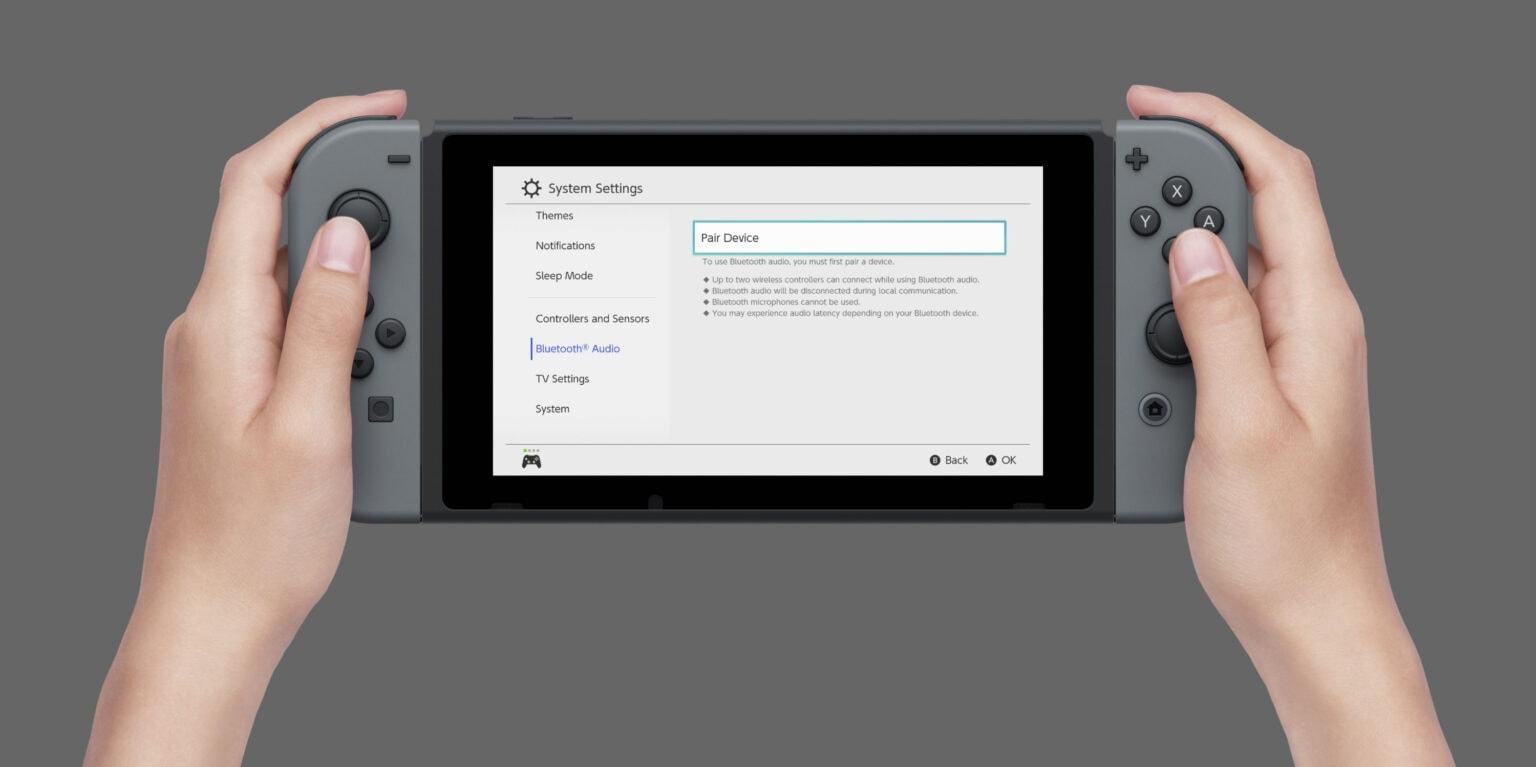 Soporte para Nintendo Switch AirPods