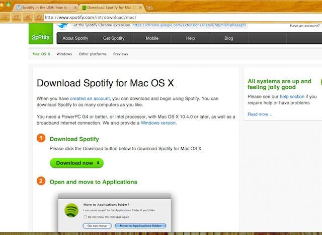 spotify free mac os x download