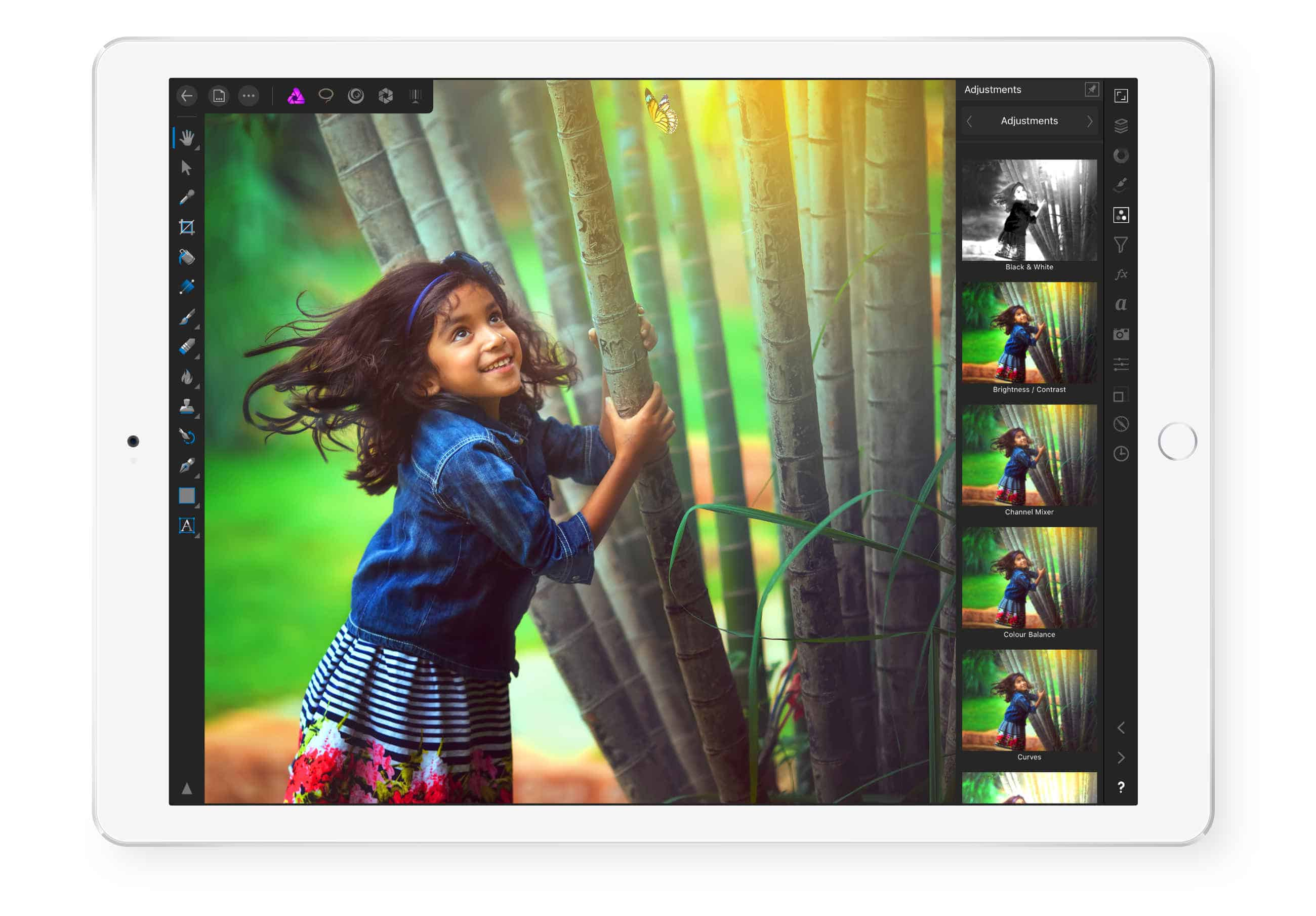 Affinity Photo is the perfect partner for Apple Pencil.